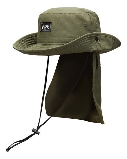 2 A/Div Big John Hat Green MAHW3BBA Billabong