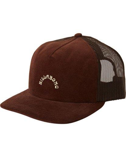 1 Backside Trucker Hat Brown MAHW3BBT Billabong
