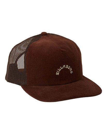 2 Backside Trucker Hat Brown MAHW3BBT Billabong