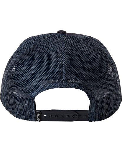 3 Backside Trucker Hat Blue MAHW3BBT Billabong