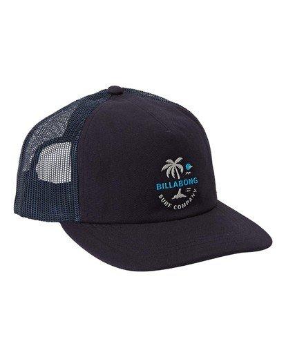 2 Backside Trucker Hat Blue MAHW3BBT Billabong