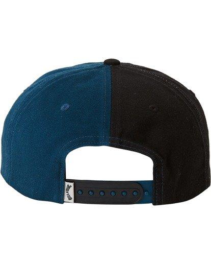 3 Halfrack Snapback Hat Black MAHW3BHA Billabong