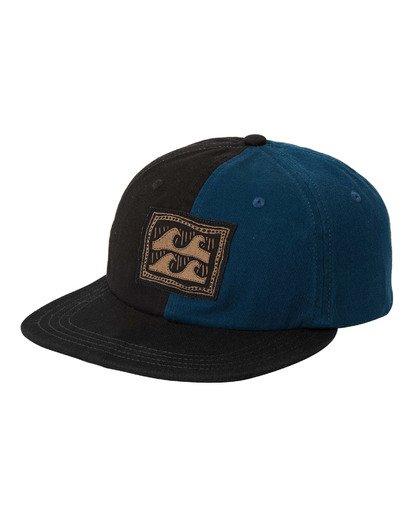 0 Halfrack Snapback Hat Black MAHW3BHA Billabong