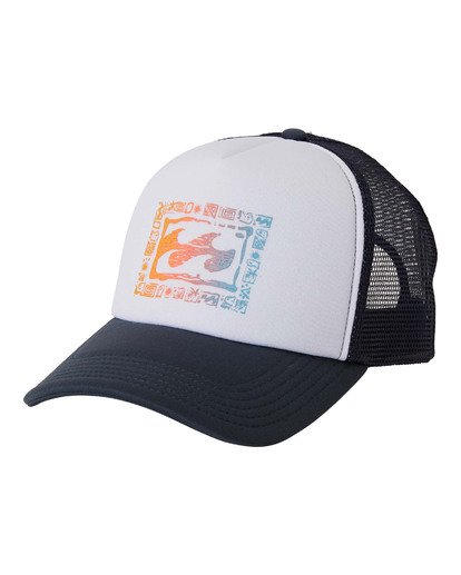0 Layoff Hat Blue MAHW3BLA Billabong