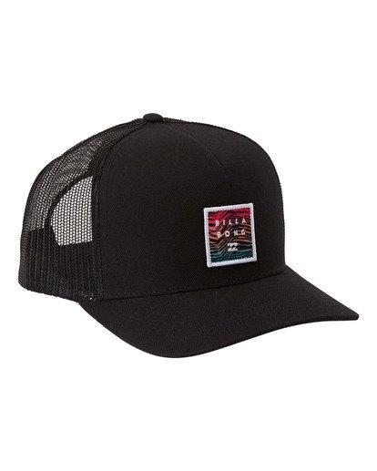 2 Stacked Trucker Hat Black MAHW3BST Billabong