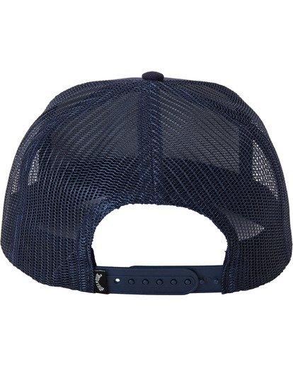 3 Stacked Trucker Hat Blue MAHW3BST Billabong