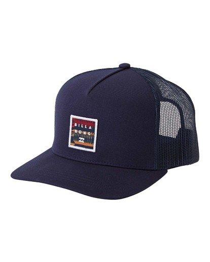 0 Stacked Trucker Hat Blue MAHW3BST Billabong