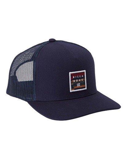 2 Stacked Trucker Hat Blue MAHW3BST Billabong