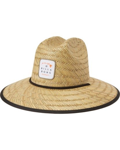 1 Tides Hawaii Hat Orange MAHW3BTD Billabong