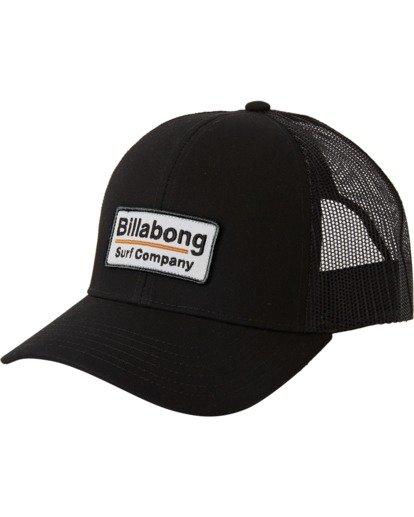 1 Walled Trucker Hat Black MAHW3BWA Billabong
