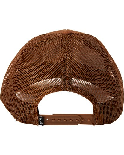 3 Walled Trucker Hat Brown MAHW3BWA Billabong