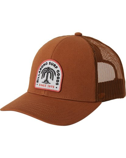 1 Walled Trucker Hat Brown MAHW3BWA Billabong