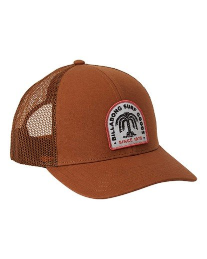 2 Walled Trucker Hat Brown MAHW3BWA Billabong
