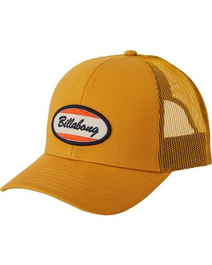 1 Walled Trucker Hat Yellow MAHW3BWA Billabong