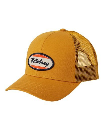 0 Walled Trucker Hat Yellow MAHW3BWA Billabong