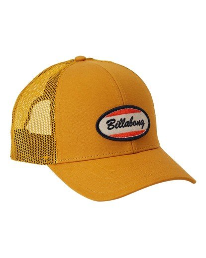2 Walled Trucker Hat Yellow MAHW3BWA Billabong