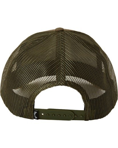 3 Walled Trucker Hat Grey MAHW3BWA Billabong