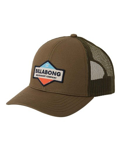 0 Walled Trucker Hat Grey MAHW3BWA Billabong