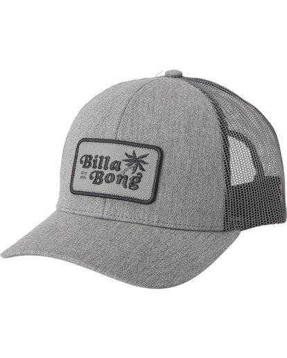1 Walled Trucker Hat Grey MAHW3BWA Billabong