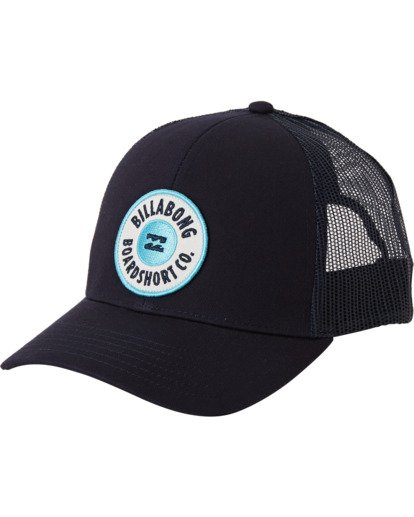 1 Walled Trucker Hat Blue MAHW3BWA Billabong