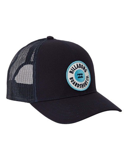 2 Walled Trucker Hat Blue MAHW3BWA Billabong