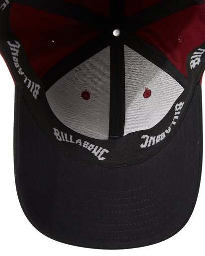 4 Walled Stretch Hat Red MAHW3BWD Billabong