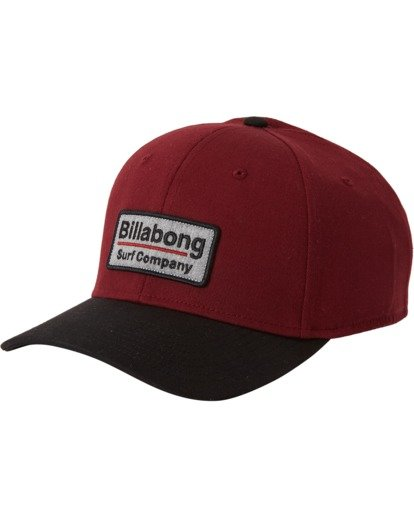 1 Walled Stretch Hat Red MAHW3BWD Billabong