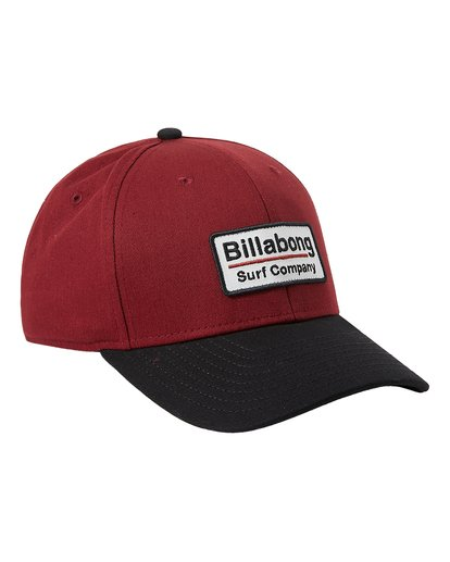 2 Walled Stretch Hat Red MAHW3BWD Billabong