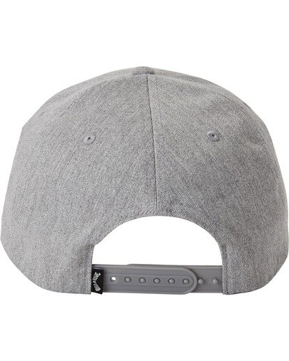 3 Walled Snapback Hat Grey MAHW3BWS Billabong