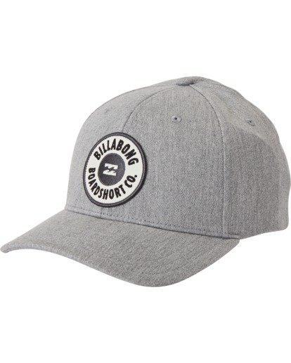 1 Walled Snapback Hat Grey MAHW3BWS Billabong