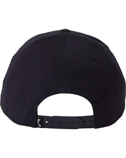 3 Walled Snapback Hat Blue MAHW3BWS Billabong