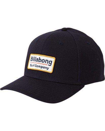 1 Walled Snapback Hat Blue MAHW3BWS Billabong