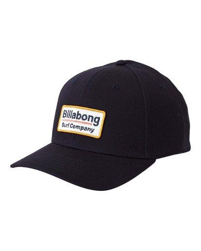 0 Walled Snapback Hat Blue MAHW3BWS Billabong