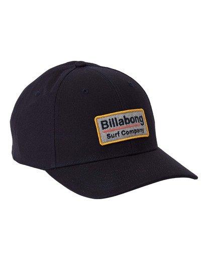 2 Walled Snapback Hat Blue MAHW3BWS Billabong