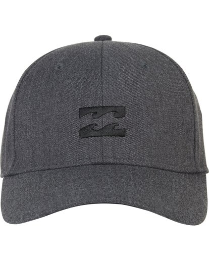 1 All Day Heather Stretch Fit Hat Grey MAHWNBAH Billabong