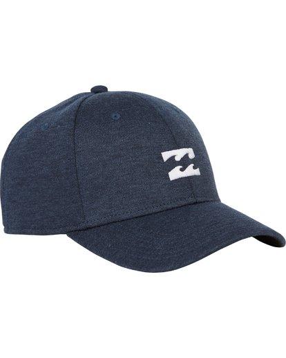 2 All Day Heather Stretch Fit Hat Blue MAHWNBAH Billabong