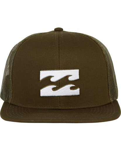 1 All Day Trucker Hat Green MAHWNBAR Billabong