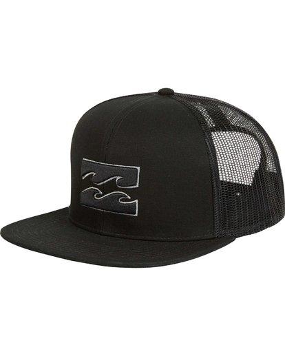 0 All Day Trucker Hat Grey MAHWNBAR Billabong