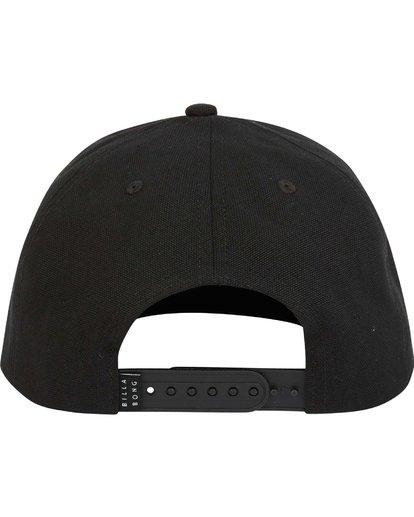 3 Stacked Snapback Hat Grey MAHWNBAS Billabong