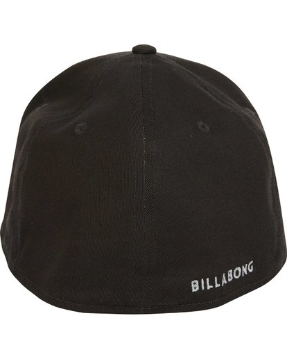 3 All Day Stretch Fit Hat Black MAHWNBAT Billabong
