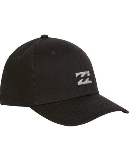 2 All Day Stretch Fit Hat Black MAHWNBAT Billabong