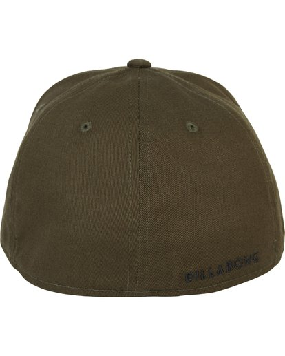3 All Day Stretch Fit Hat Green MAHWNBAT Billabong