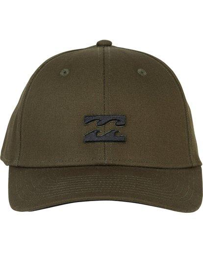 1 All Day Stretch Fit Hat Green MAHWNBAT Billabong