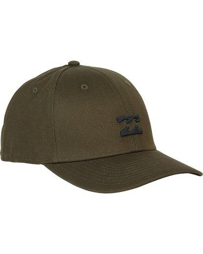 2 All Day Stretch Fit Hat Green MAHWNBAT Billabong