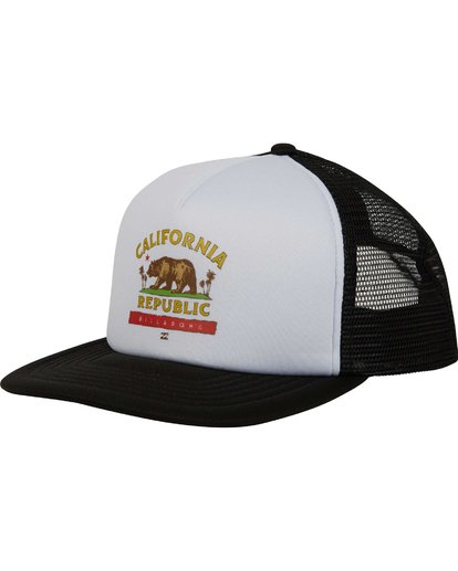 0 California Trucker Hat  MAHWNBCA Billabong