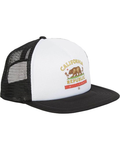 2 California Trucker Hat Black MAHWNBCA Billabong