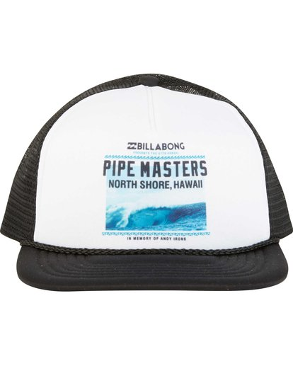 1 Pipe Masters Poster Trucker Hat  MAHWNBPP Billabong