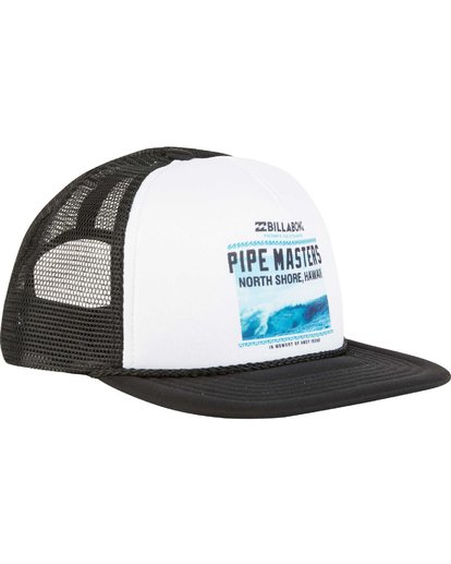 2 Pipe Masters Poster Trucker Hat  MAHWNBPP Billabong