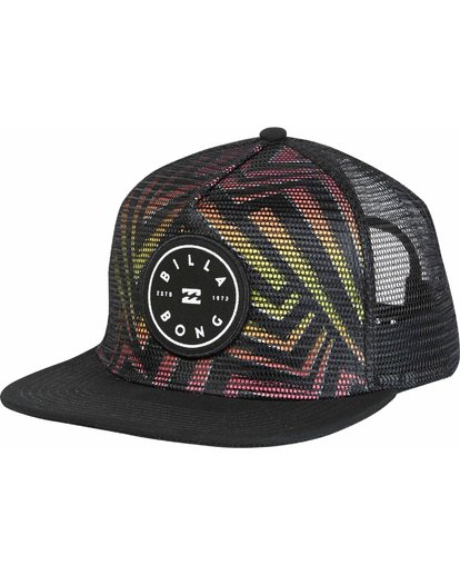 0 Rotor Trucker Hat  MAHWNBRT Billabong