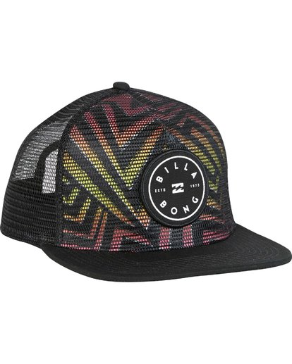 2 Rotor Trucker Hat  MAHWNBRT Billabong